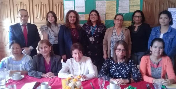 Reunión de implementación de línea base del monitoreo de la Política Institucional sobre Igualdad de Género y Promoción de los Derechos Humanos de las Mujeres 8 octubre