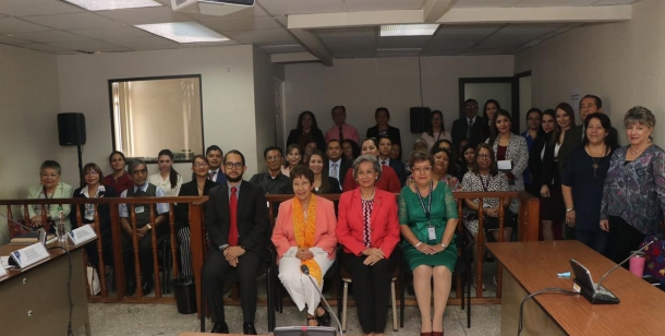 Talle de Comunicación con Enfoque de Género y Derechos Humanos de las Mujeres dirigido a la Secretaría de Comunicación Social y Protocolo del Organismo Judicial Grupo A