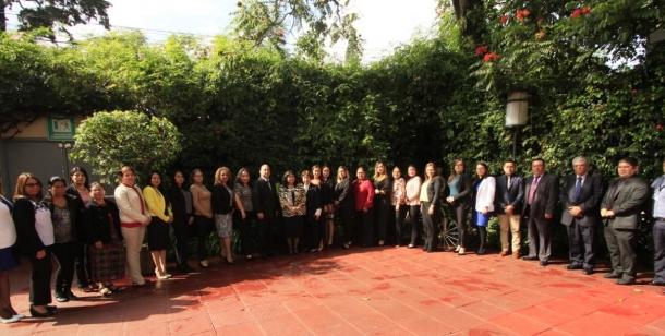 """Mesas de Derechos Humanos de las Mujeres y Género dirigido a juezas, jueces, secretarias, secretarios y personal administrativo de los departamentos de Guatemala y Escuintla Grupo """"A"""""""