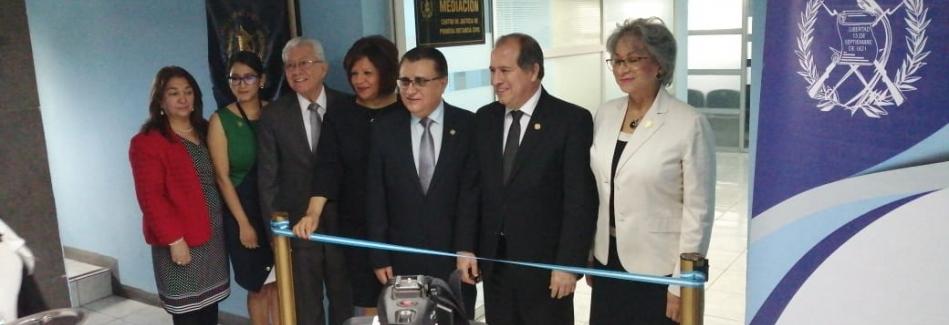 Inauguración del Centro de Mediación especializado en Materia Civil