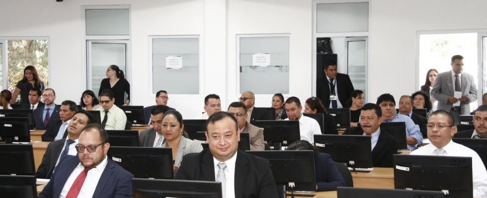 Evaluación Jurídica en Plataforma Educativa del XVI PROFINS 2018