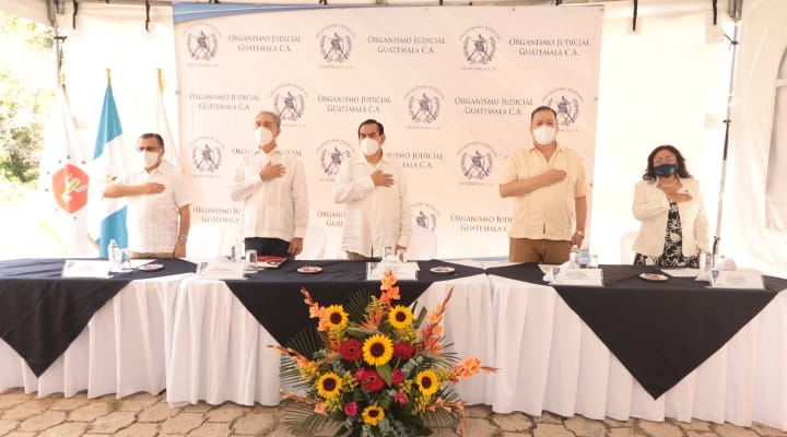 Se Inaugura Juzgado especializado en Delitos contra el Ambiente en Zacapa