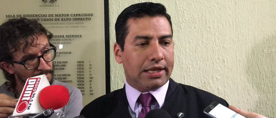 DR. CARLOS GUILLERMO GUERRA JORDÁN  ELECTO COMO PRESIDENTE DEL CONSEJO DE LA CARRERA JUDICIAL
