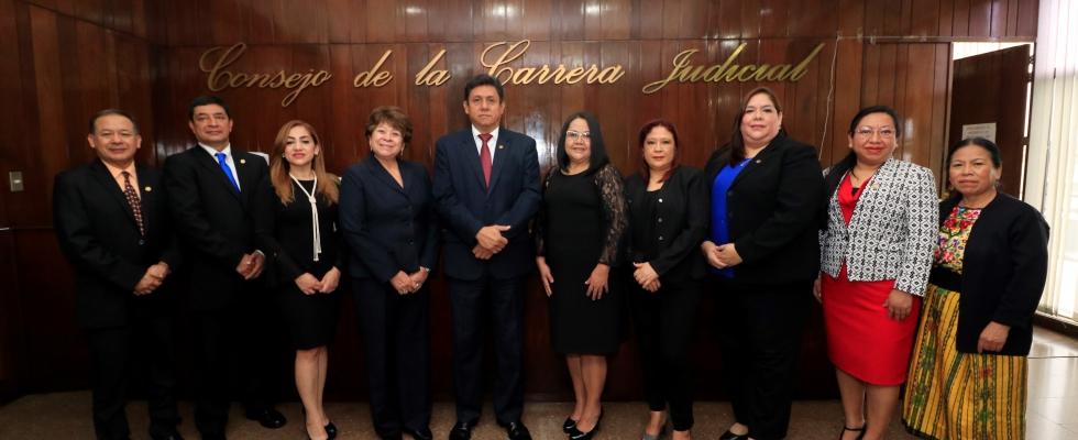 Consejo de la carrera Judicial 2020