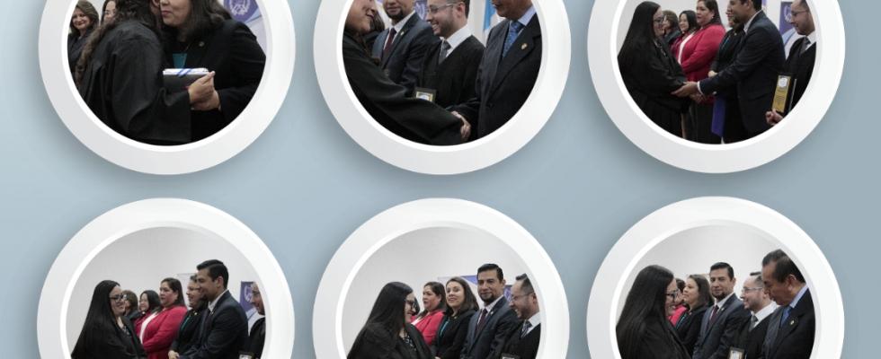 Clausura del XV PROFINS del Consejo de la Carrera Judicial