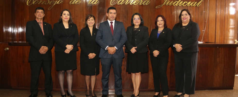 Nuevo Consejo de la Carrera Judicial, electo de conformidad con el Decreto 32-2016, Ley de la Carrera Judicial