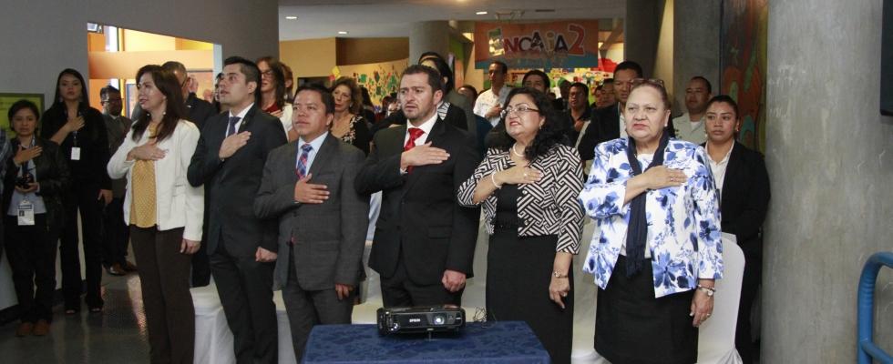 La Inauguración de la Exposición lúdica denominada