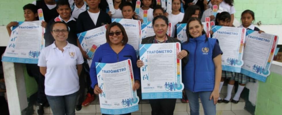 Jóvenes de Amatitlán se unen contra la trata de personas