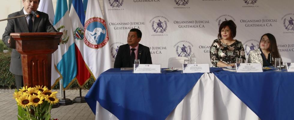 Organismo Judicial Inaugura Doctorado en Derecho Penal y Ciencias Criminalísticas