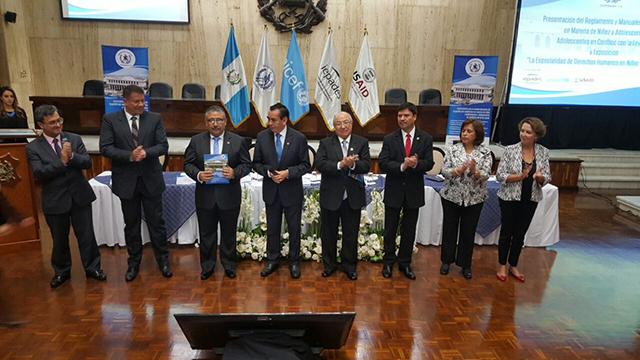 Presentan nuevo reglamento y manuales de funciones de los Juzgados y Salas de Niñez y Adolescencia