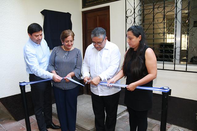 Inauguran delegación del Archivo de Protocolos en Retalhuleu