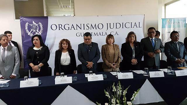 Magistrados y Jueces de Trabajo realizan reunión de trabajo