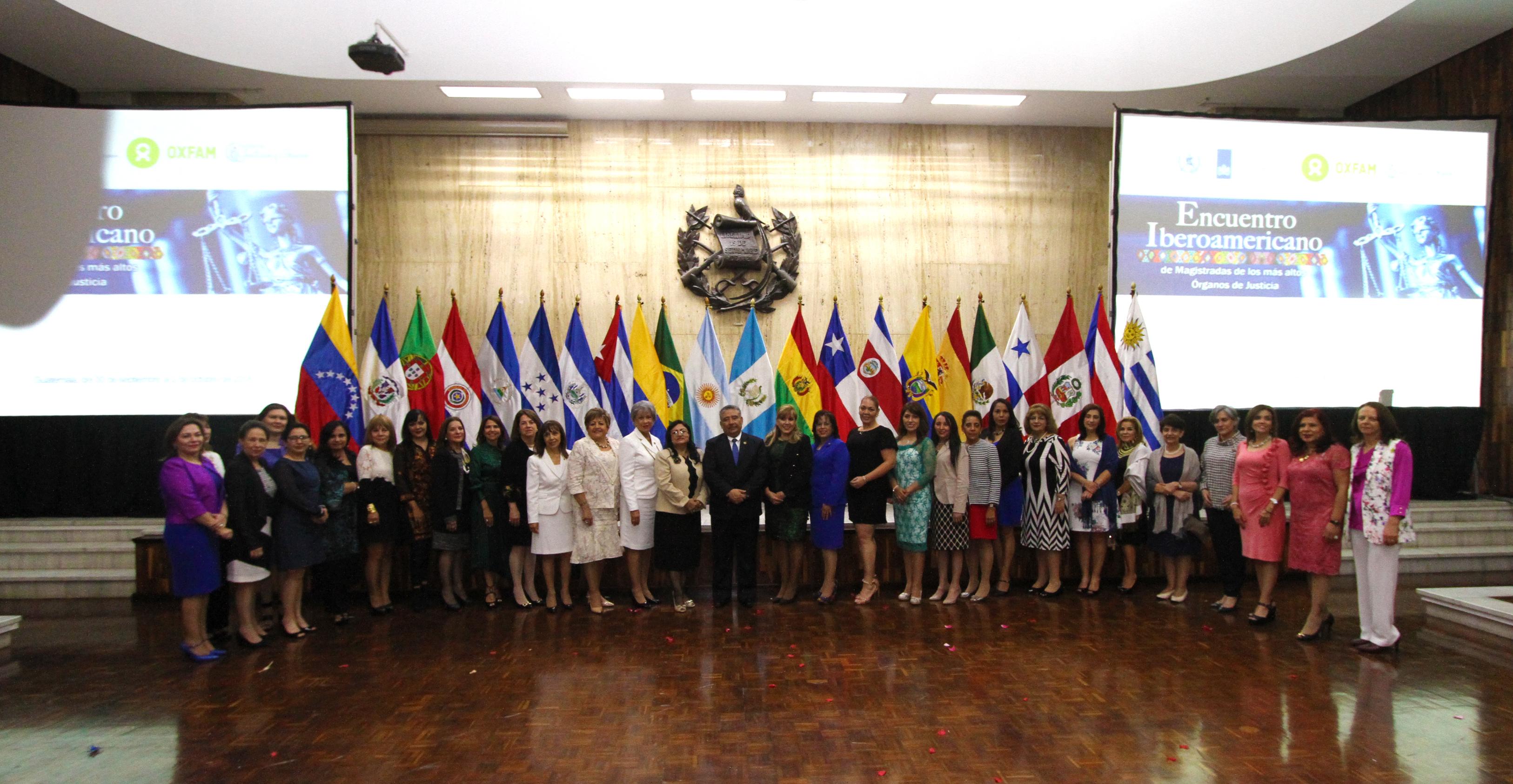 Inauguran Encuentro Iberoamericano de Magistradas de los más Altos Órganos de Justicia