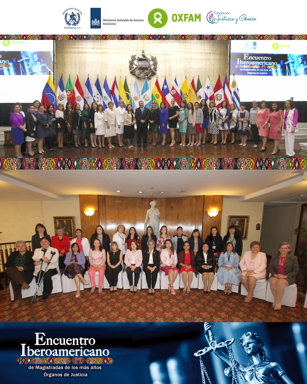 Concluye Encuentro Iberoamericano de Magistradas de los más Altos Órganos de Justicia.