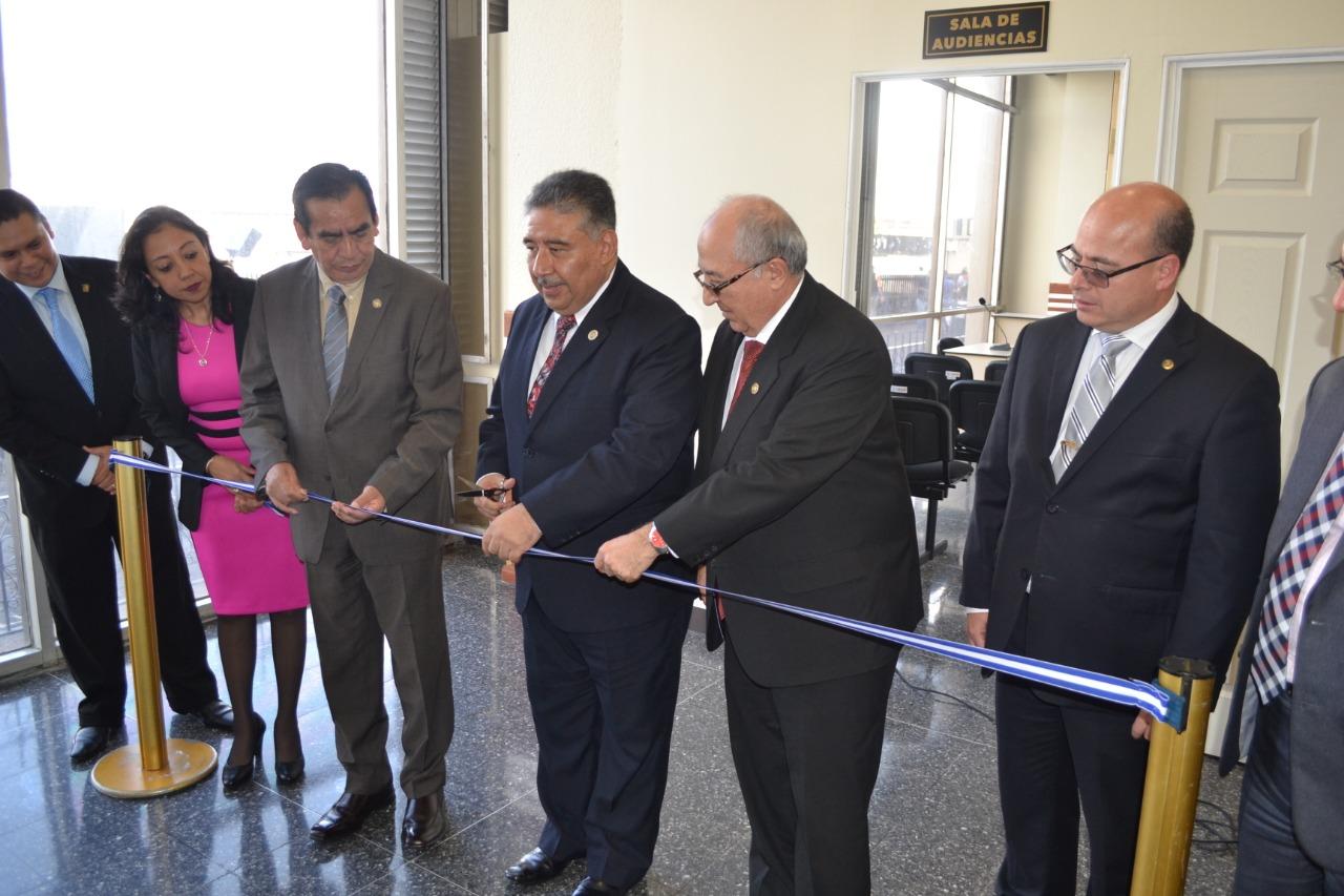 Inauguran Juzgado de Primera Instancia Penal en materia Tributaria y Aduanera