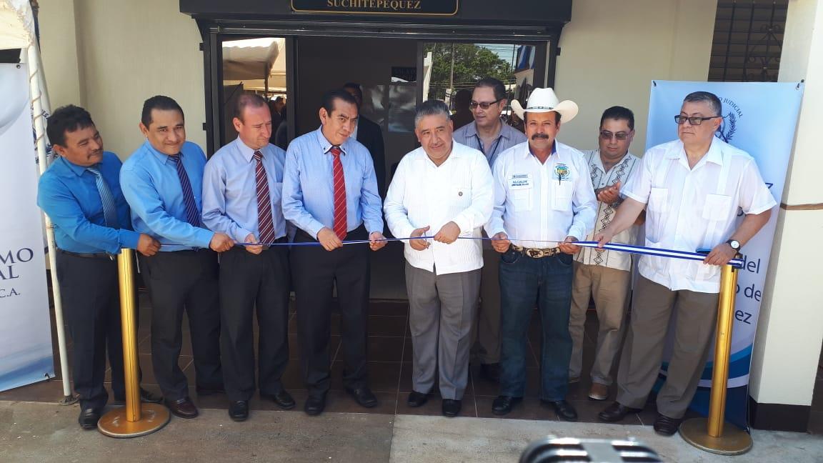 Inauguran Juzgado de Paz en San José La Máquina, Suchitepéquez