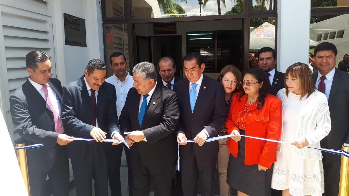 Inauguran nuevas sedes judiciales