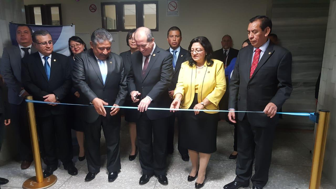 Inauguran Juzgado y Tribunal de Mayor Riesgo E