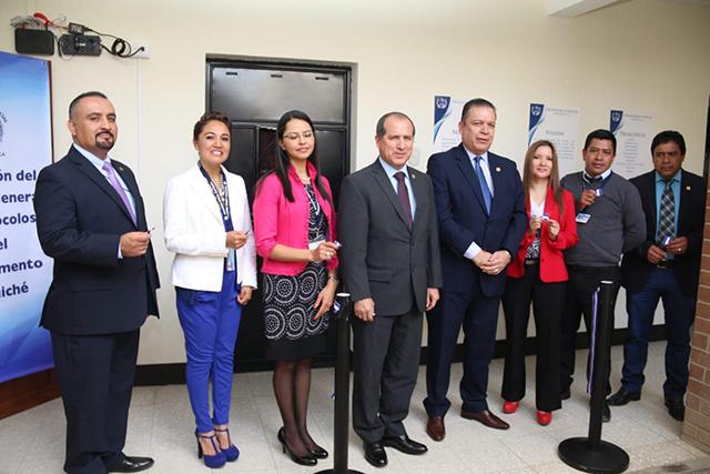 Inauguran delegación del Archivo General de Protocolos en Quiché
